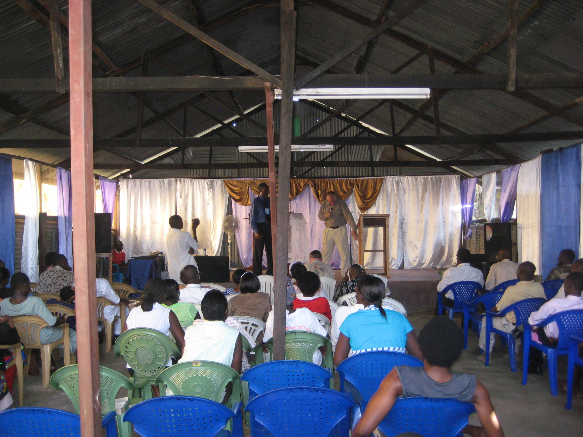GOSPEL MEETING - Coast Province, Kenya